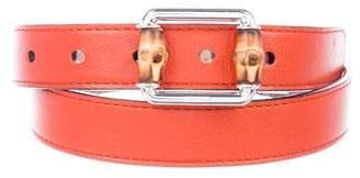 Gucci Boys' Leather Belt