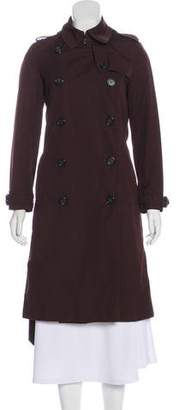 Burberry Long Double-Breasted Coat