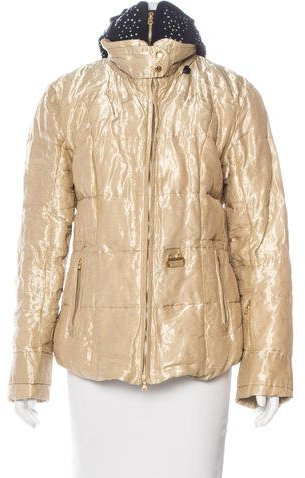 Bogner Bogner Metallic Down Coat