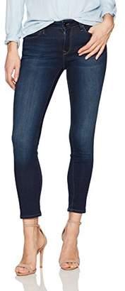 Mavi Jeans Women's Petite Alexa Mid Rise Skinny
