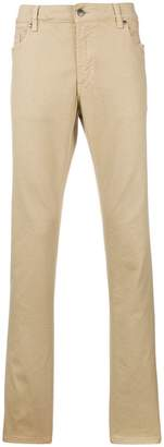 Tod's denim chino trousers