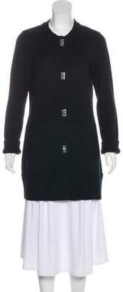 MICHAEL Michael Kors Wool-Blend Long-Line Cardigan