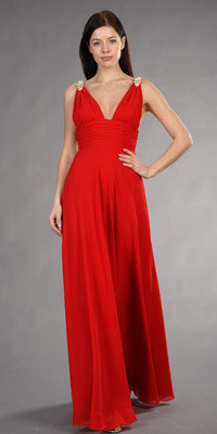 Celebrity Inspired Red Gowns by Faviana