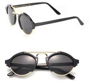 Illesteva Milan 49MM Aviator Sunglasses $300 thestylecure.com