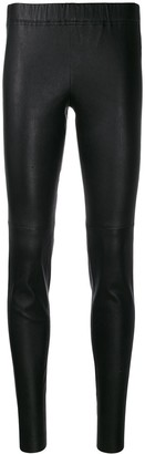 Yves Salomon leather leggings