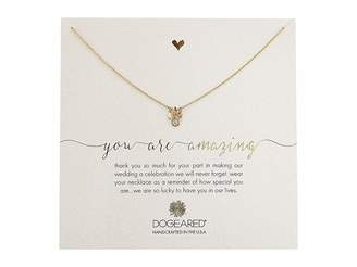 Dogeared You Are Amazing, Pearl, Crystal Bezel and Bead Cluster Necklace Necklace