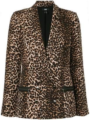 Paige leopard print blazer