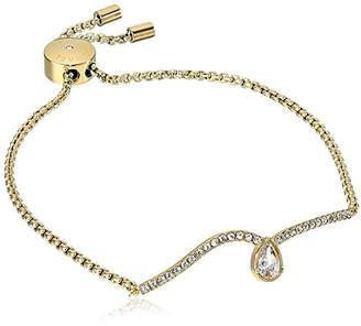 Michael Kors Womens Brilliance -Tone Link Bracelet