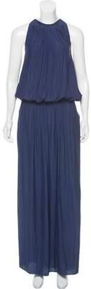 Ramy Brook Sleeveless Satin Dress
