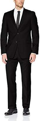 Tommy Hilfiger Men's Single Breast Two Button Suit