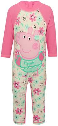 M&Co Peppa Pig sunsafe swimsuit