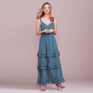 LC Lauren Conrad Dress Up Shop Collection Ruffle Maxi Dress - Women's $100 thestylecure.com