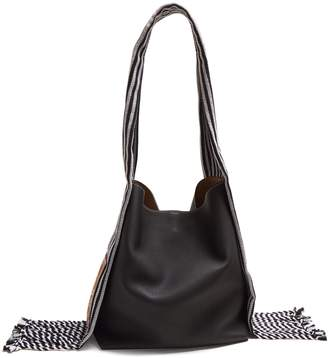 Loewe Scarf bucket leather tote
