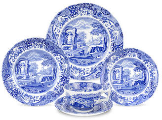 Spode Blue Italian 5 Piece Place Setting, Service for 1