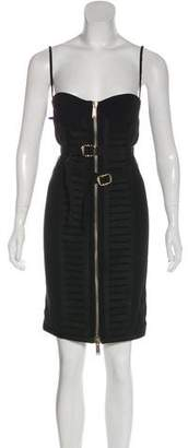 DSQUARED2 Bandage-Accented Sleeveless Mini Dress w/ Tags