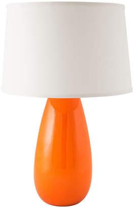 Asstd National Brand RiverCeramic Tear Drop Mini Table Lamp