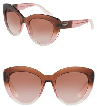 Dolce & Gabbana 53mm Cat Eye Sunglasses