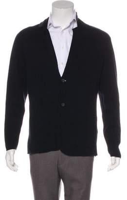 Michael Kors Woven Button-Up Cardigan
