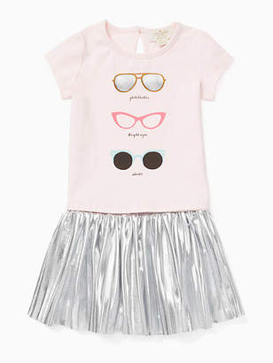 Kate Spade Babies sunglasses skirt set