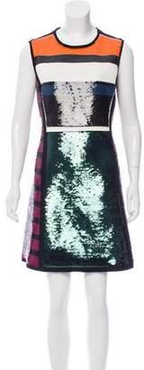 Cédric Charlier Embellished Mini Dress w/ Tags