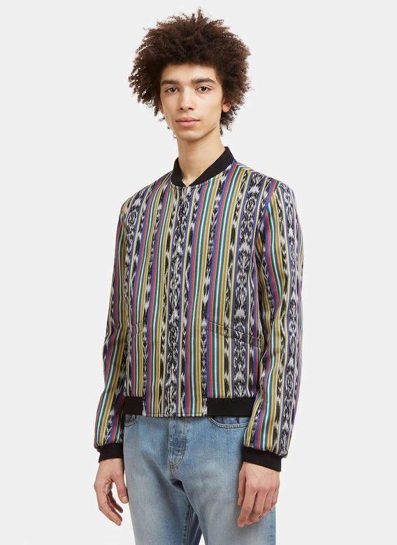 Teddy Reversible Pattern Jacket in Multi