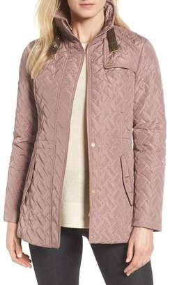 Cole Haan Quilted Short Coat