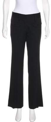 CNC Costume National Mid-Rise Straight-Leg Pants