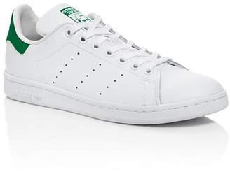 Adidas Unisex Stan Smith Lace Up Sneakers - Big Kid $40 thestylecure.com