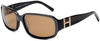 Heat Women's HS0204 Polarized Square Wrap Sunglasses