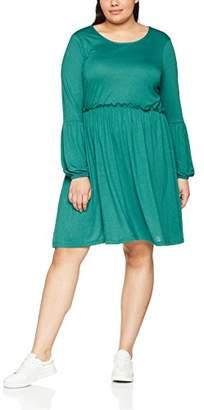 Junarose Women's Jrnectaria Ls Above Knee Dress - S Dress,(Manufacturer Size: Oversize S)