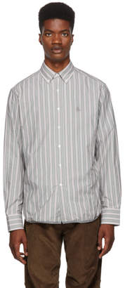 Lanvin Green Striped Shirt