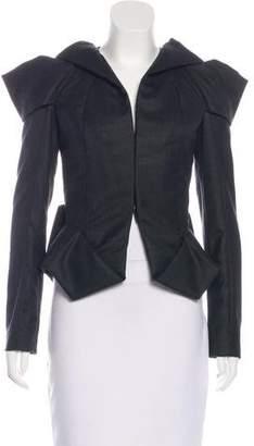 Bottega Veneta Wool Fitted Jacket