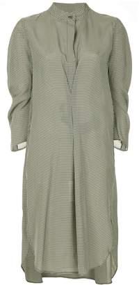 Zero Maria Cornejo gingham-print dress
