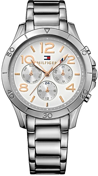 Tommy HilfigerDuo Tone Bracelt Watch