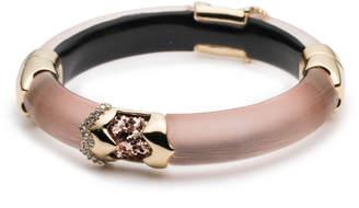 Alexis Bittar Crystal Encrusted Glitter Segmented Hinge Bracelet