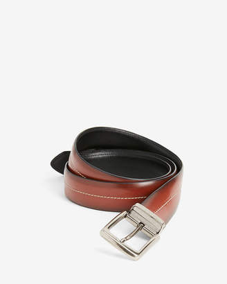 Express Reversible Center Stitch Stretch Prong Belt
