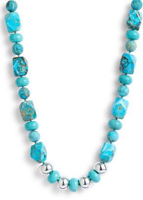 Simon Sebbag Multi Shape Stone Bead Necklace