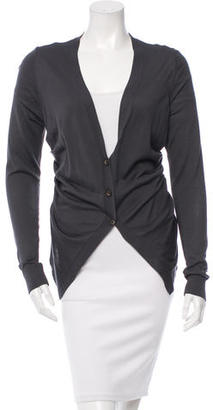 Vera Wang Silk Knit Cardigan $75 thestylecure.com