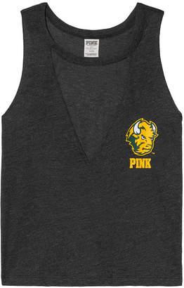 PINK Kansas State University Choker Neck Muscle Tank