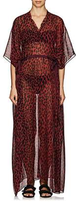 On The Island Women's Arkoi Leopard-Print Cover-Up Maxi Dress