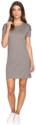 Alternative - Straight Up Cotton Modal T-Shirt Dress Women's Dress $48 thestylecure.com