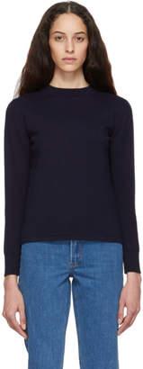 A.P.C. Navy Queen Sweater