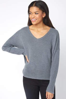 Park Life Ribbed V-Neck Sweater