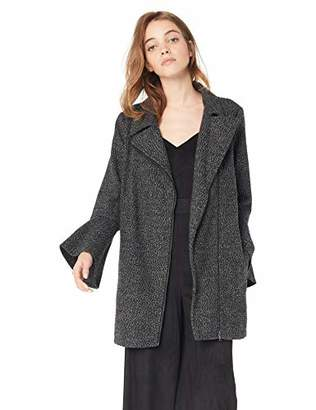 Jack by BB Dakota Junior's Stay Phresh Tweed Bell Sleeve Coat