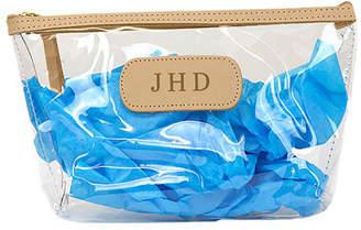 clear Jon Hart Grande Cosmetic Bag