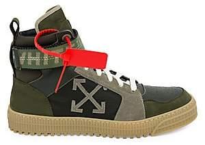 Off-White Men's Industrial Belt High-Top Sneakers