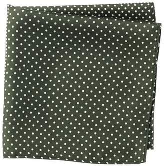Nordstrom Rack Silk 4 Panel Dot Pocket Square