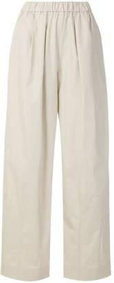 Emporio Armani high-waisted palazzo pants