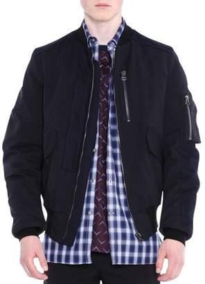 Lanvin Zip-Up Blouson Jacket, Black