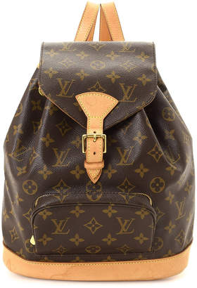 at Century 21 · Louis Vuitton Montsouris MM Backpack - Vintage · Auth LOUIS  VUITTON Montsouris GM Rucksack Backpack Monogram canvas Used ... c5761b4389180